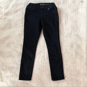 Black Super Skinny Children's Place Girls Jeans.